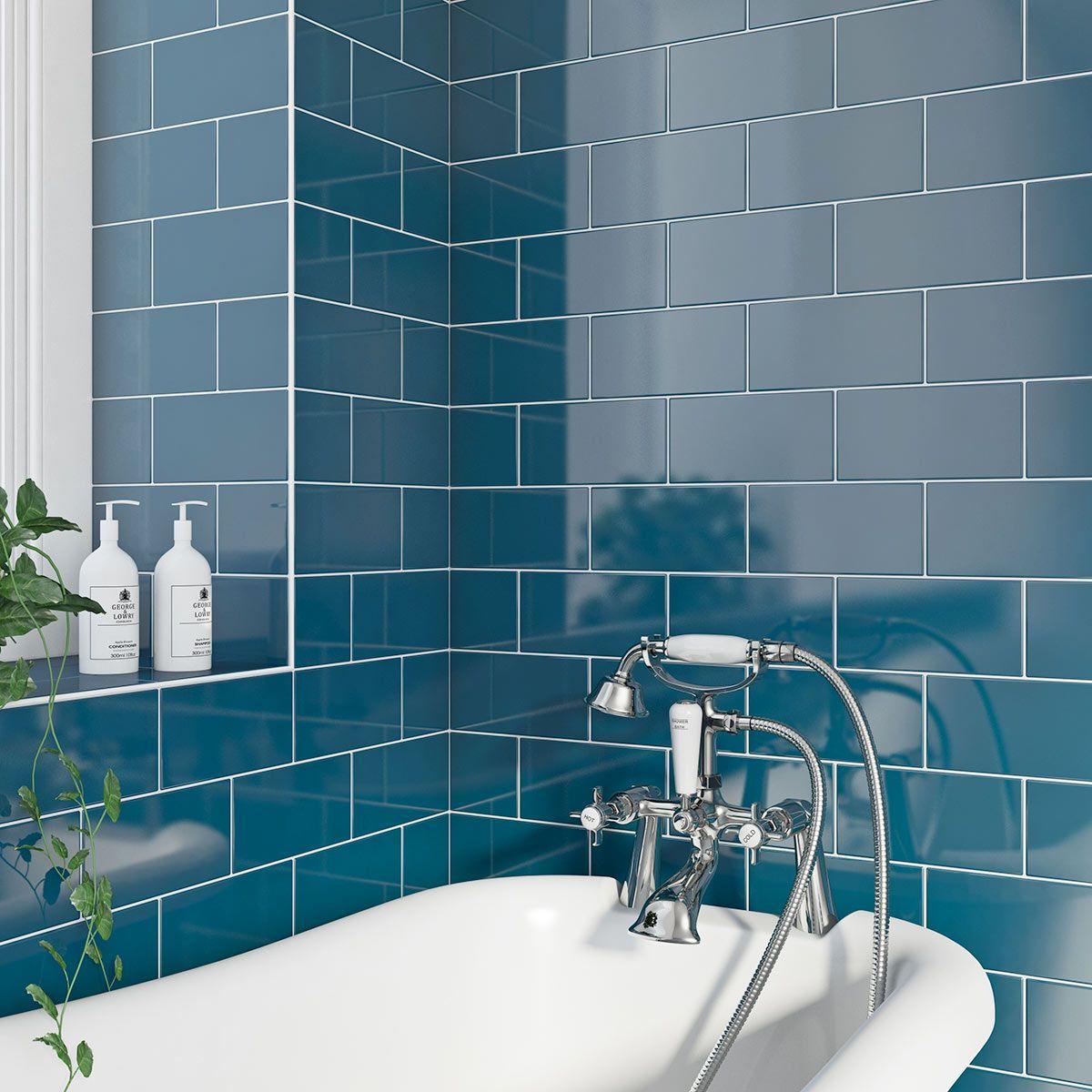 19.99 | bathroom | Pinterest | Taps, Metro tiles and Bath