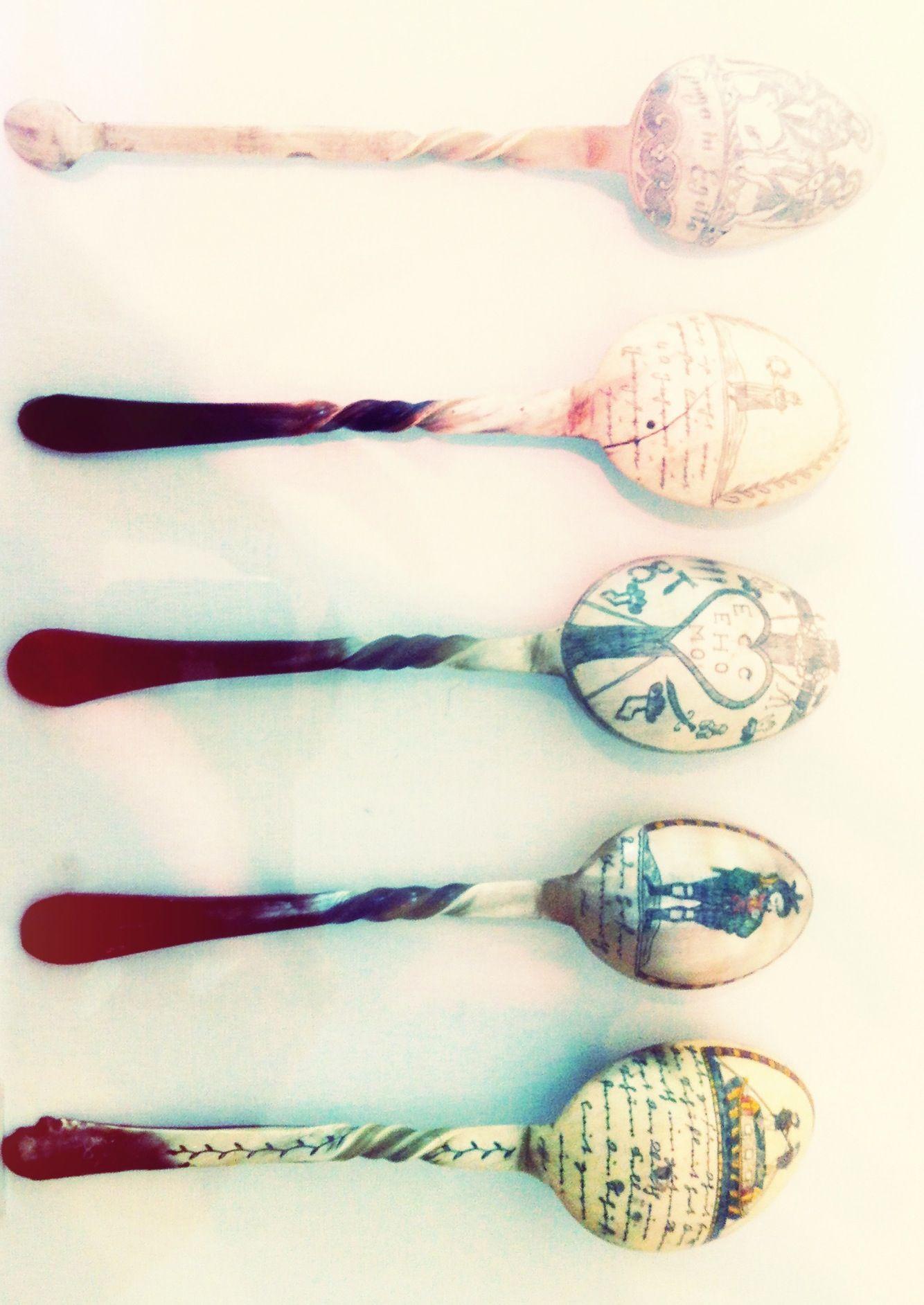 Carved Spoons. | Carved spoons, Carving, Spoon
