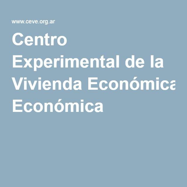 Centro Experimental de la Vivienda Económica