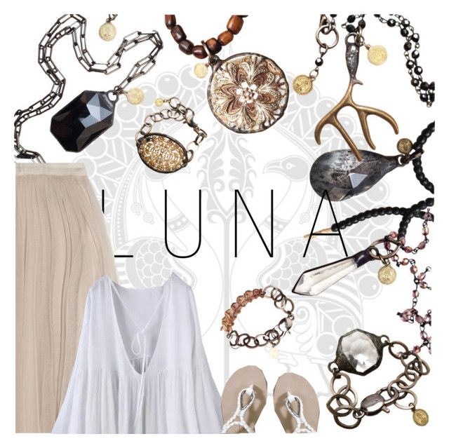 """""""LUNA Collection"""" by plurbit ❤ liked on Polyvore featuring Needle & Thread, WithChic, Abercrombie & Fitch, women's clothing, women's fashion, women, female, woman, misses and juniors"""