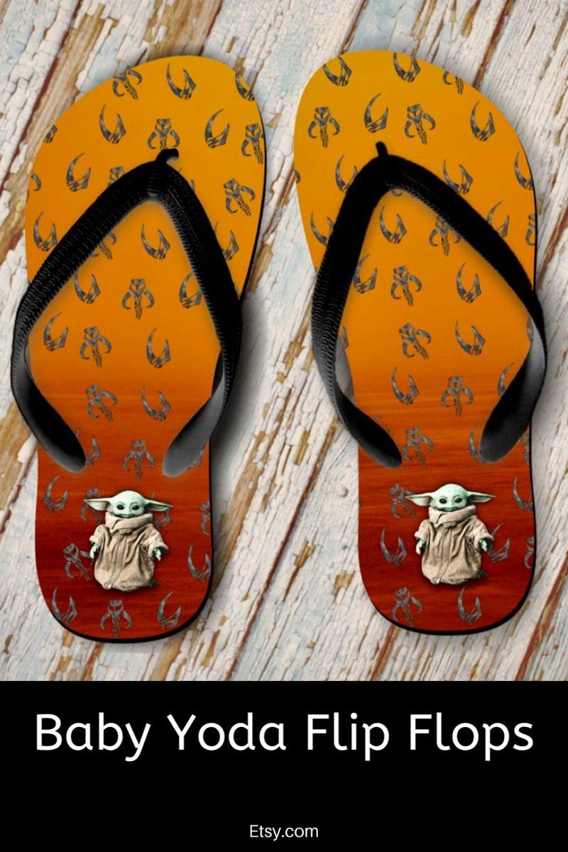 Mandalorian Flip Flops Mythosaur Mudhorn Summer Flip Flops
