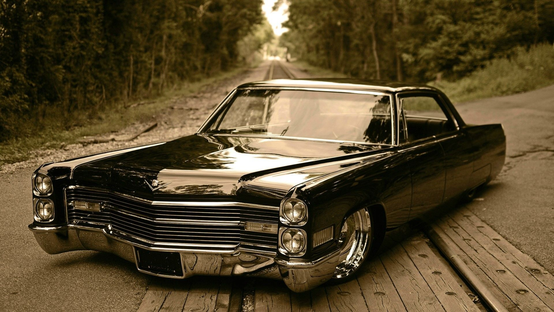 X Wallpaper Cars Pinterest Muscles Cars And Cadillac - Badass old cars