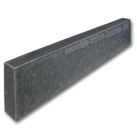 Bordstein Leistenstein Basalt Schwarz 100x20x8 Cm Leistensteine Bordstein Und Steine