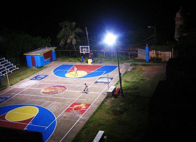 La Perla Basketball Courts Outdoor Basketball Court Street Basketball Basketball Court