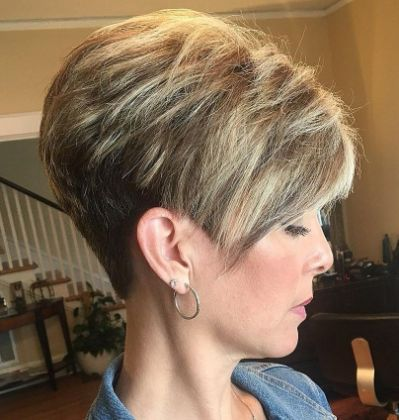stacked pixie haircut