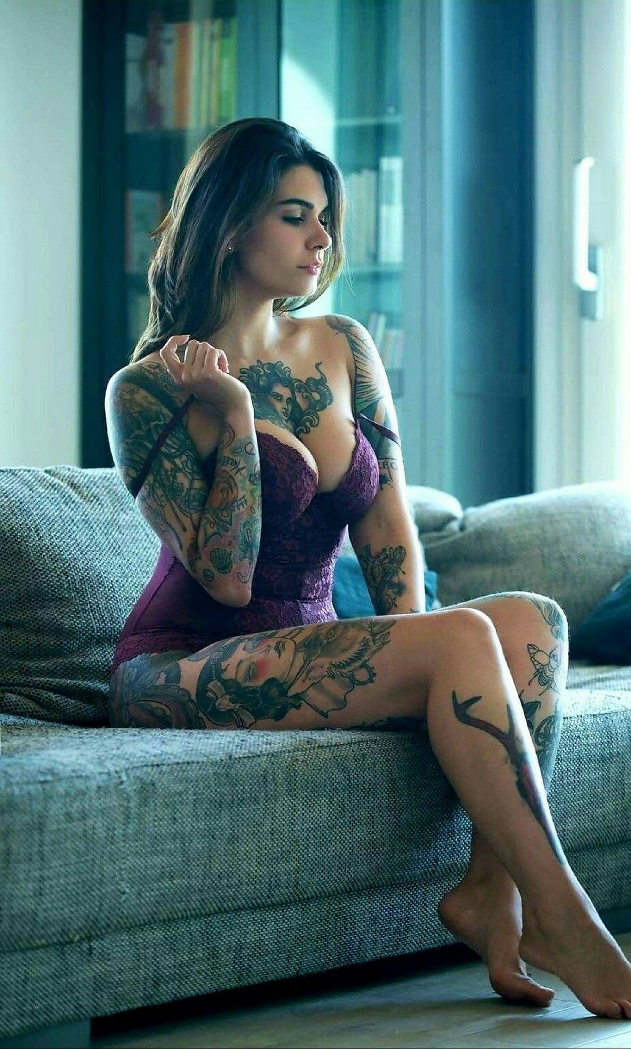 Something is. porn tattoo hot are