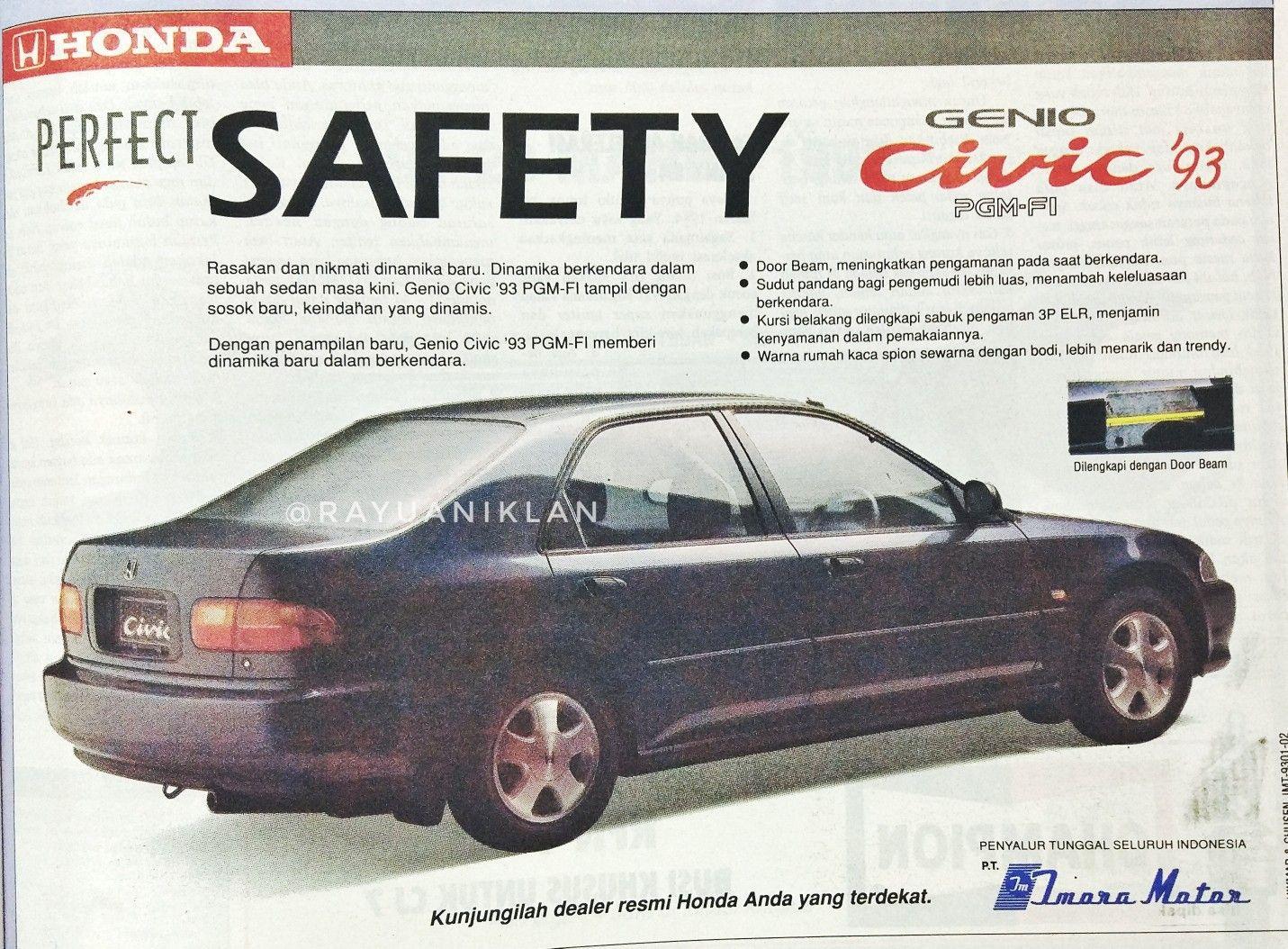 Pin By Darfi Rizkavirwan On Indonesian Print Ads Honda Civic