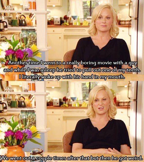 Leslie knope dating stories