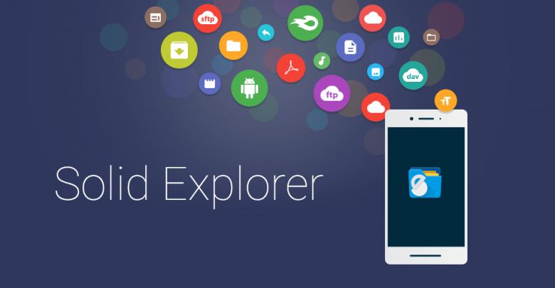 سالید اکسپلورر Solid Explorer Unlocker 2.7.0 APK + Mod