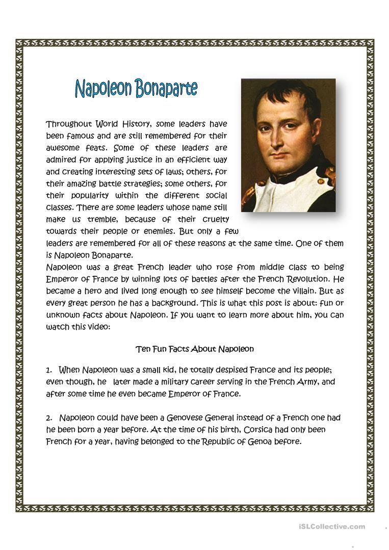 Napoleon Bonaparte   History   Napoleon, French history ...