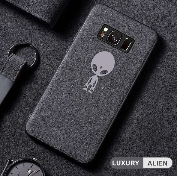 pretty nice b194e 13b26 Alien alcantara samsung case in 2019 | Samsung Galaxy Cases ...