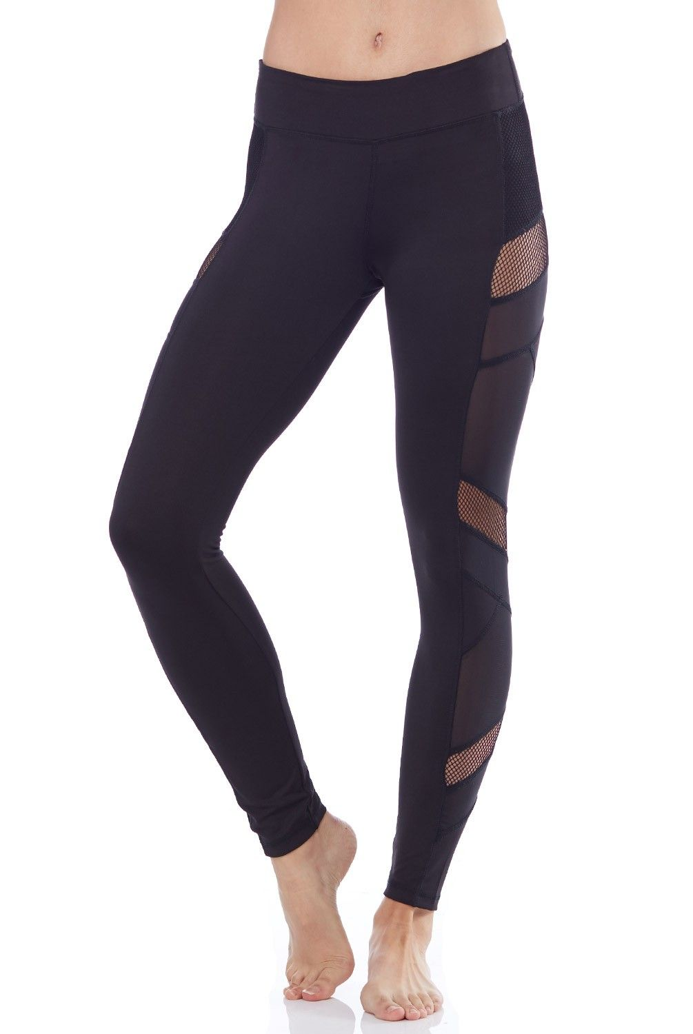Womens Mesh-Inset Leggings Electric Yoga wzAKk20SrN