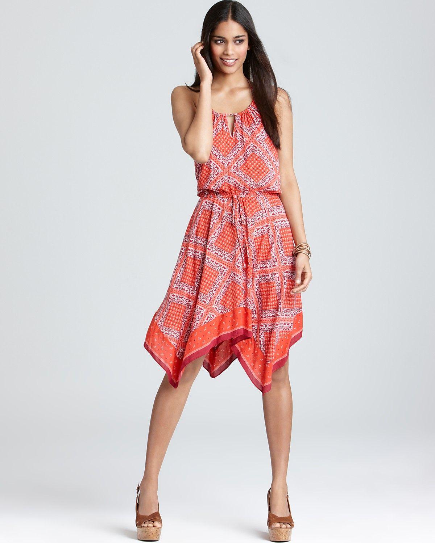 Handkerchief Dress Pattern | California Dress - Halter Handkerchief ...