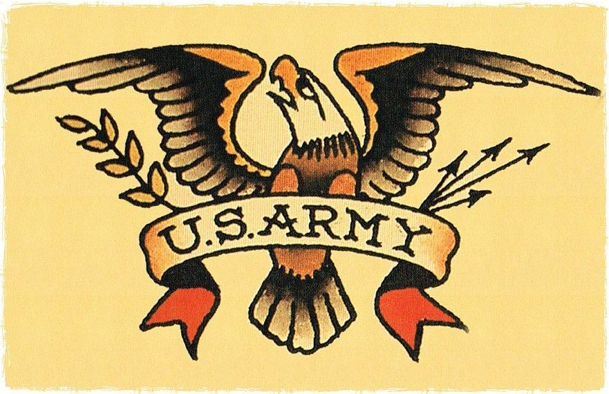 15c01028b Sailor Jerry Eagle Us Army Tattoos, Eagle Tattoos, Tattoos For Guys, Future  Tattoos