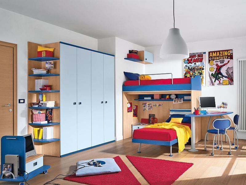 Habitaciones infantiles dobles chicos decoraci n dormitorios infantiles pinterest cuarto - Dormitorios dobles para ninos ...