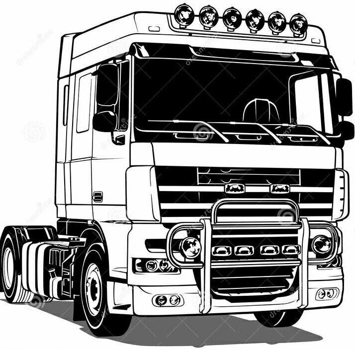 daf vrachtwagen kleurplaat n de 32 ausmalbilder