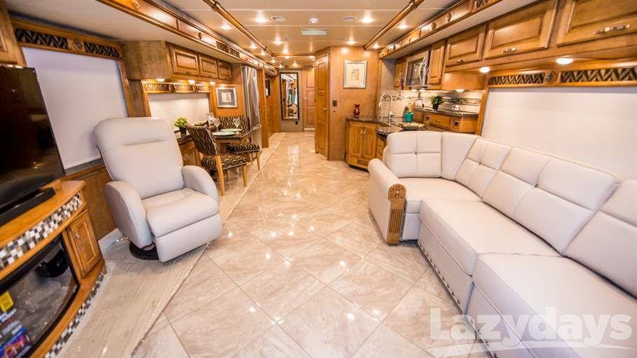 A Look Inside The Luxurious Winnebago Journey Rv Interior