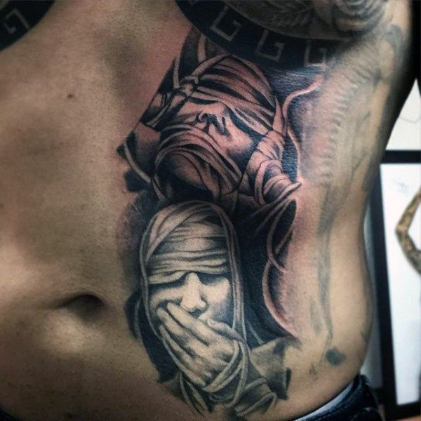 Female Full Back Tattoos Designs
