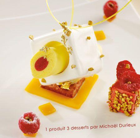 Le fruit de la passion en mousse, by Michaël DURIEUX.