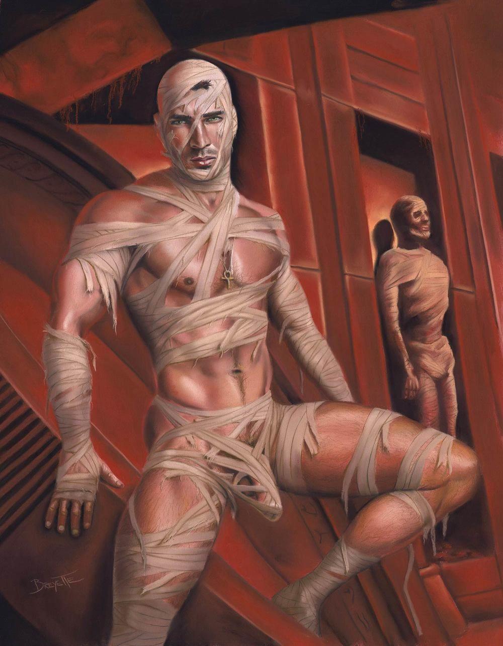 of men naked art fantasy