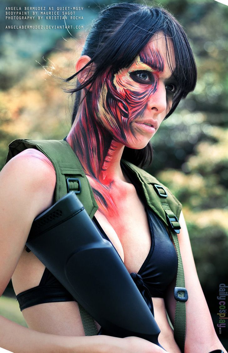 Quiet From Metal Gear Solid V The Phantom Pain Cosplay Cosplay