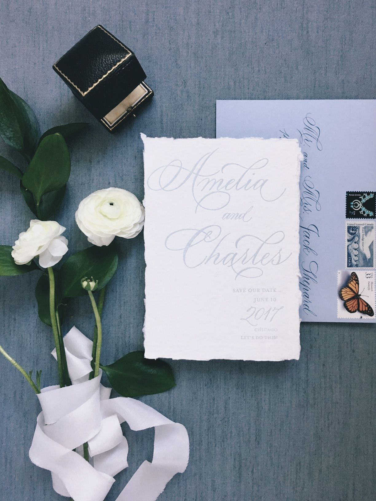 calligraphy prices Invitation set, Calligraphy envelope