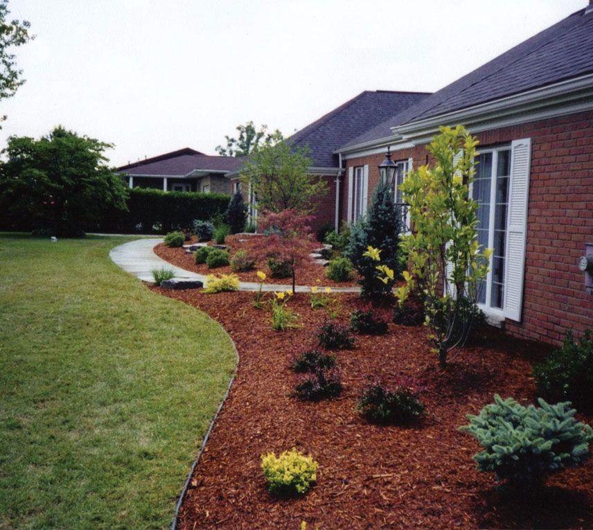 Front Yard Edging: #Plastic #Landscape #Edging Design
