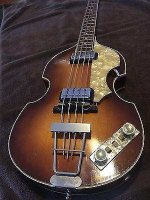 Hofner 500 1 Beatle Bass 1964 Original Not Sure If Anyone Here Is Interested But I Posted My Original 64 On Ebay List Bass Guitar Guitar Guy Electric Bass