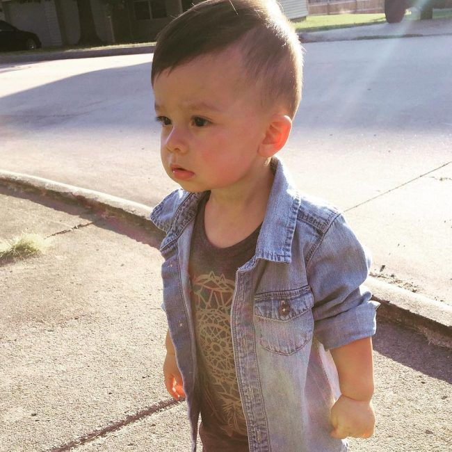 Baby Boy Haircuts Nowadays Come In A Variety Of Charming Styles It S Difficult To Pick The Cool Baby Boy Haircuts Baby Boy Hairstyles Baby Boy Haircut Styles