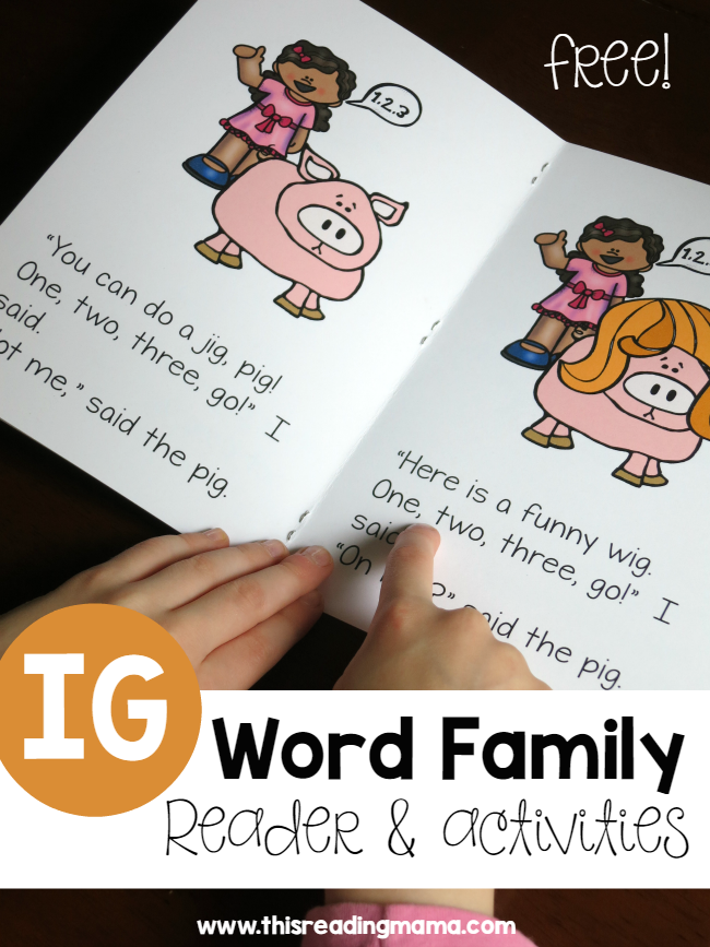 photo about Printable Word Family Books referred to as Absolutely free Printable Phrase Family members Textbooks for Limited Vowels Pre