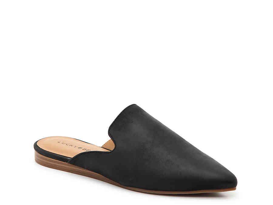 Lucky Brand Brynnuh Mule   Black mules