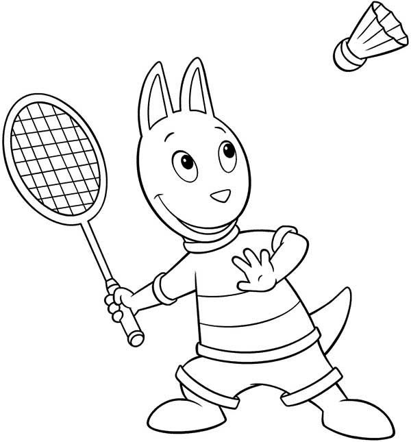 Austin Doing Sport In The Backyardigans Coloring Page Kids Play Color In 2020 Coloring Pages Online Coloring Coloring Pages For Kids