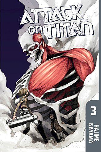 Attack On Titan Vol. 3, 2014 The New York Times Best Sellers Manga Graphic Books winner, Hajime Isayama #NYTime #GoodReads #Books