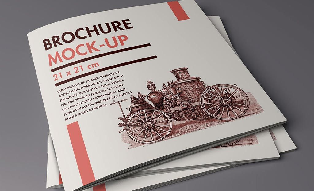 free brochure mockup   Useful Design Tools   Pinterest   Free     free brochure mockup