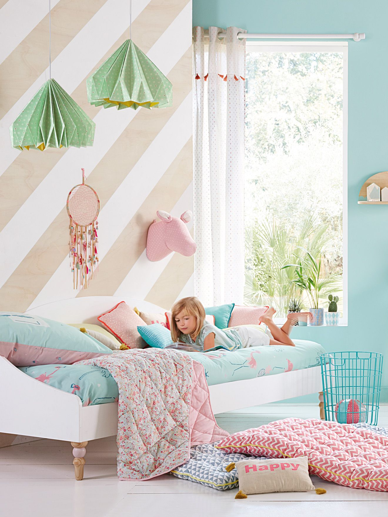 ambiance chambre fillette | Maison | Pinterest