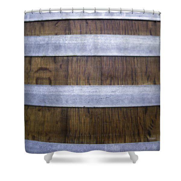 Durmast Barrel Shower Curtain by Cesare Bargiggia