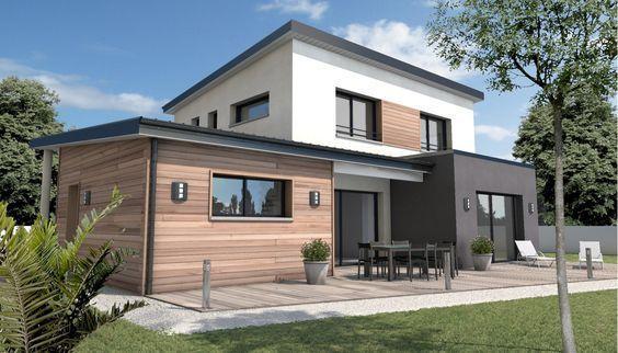 constructeur maison moderne longeville sur mer vendée 85 ...
