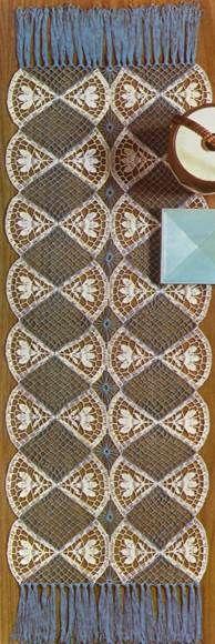 Crochet Rug  Fans