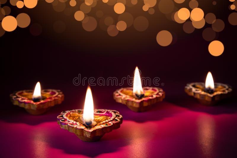 Happy Diwali Clay Diya Lamps Lit During Dipavali Hindu Festival Of Lights Cel Affiliate Diya Lamps Hindu Festival Of Lights Diya Lamp Festival Lights