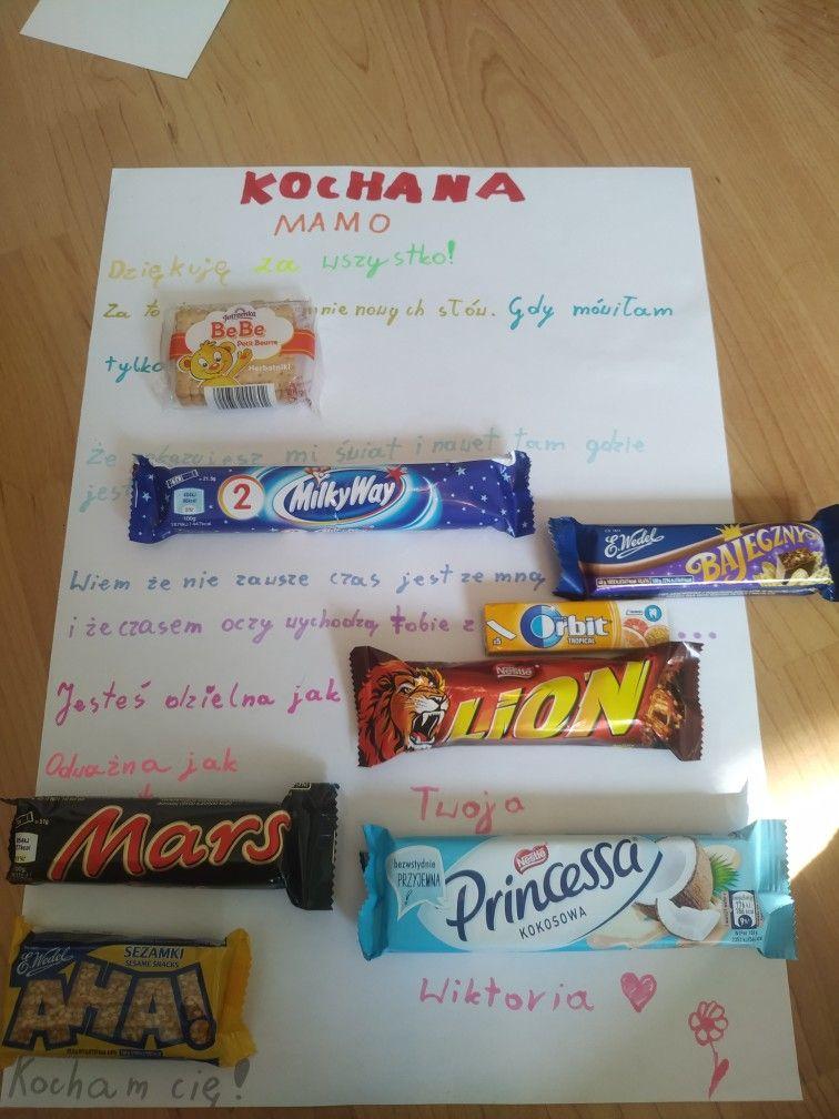 Rekodzielo Dla Mamy Mother Day Gifts Gifts Diy