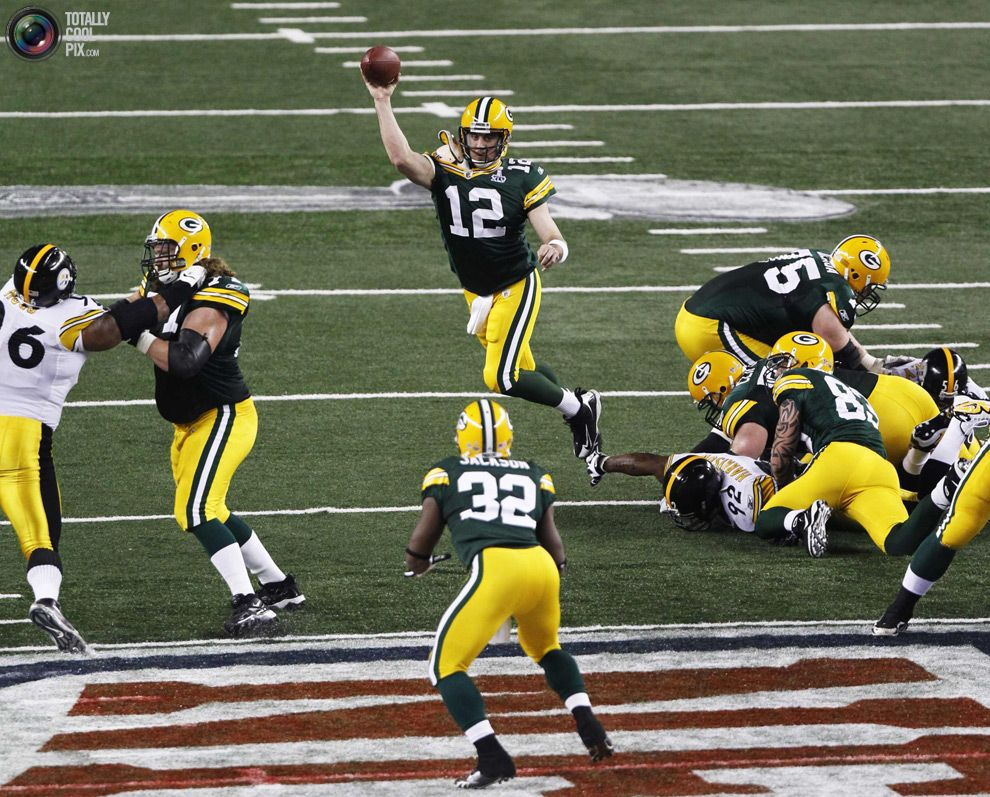Super Bowl Xlv Green Bay Packers Were Favored By 2 5 Vs Pittsburgh Steelers Packers Held Green Bay Packers Players Green Bay Packers Crafts Rodgers Green Bay