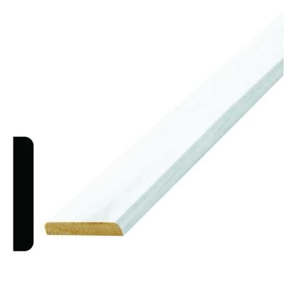 Alexandria Moulding WM 9721 3/8 in. x 2 in. x 96 in. Wood Primed Finger-Jointed Mullion Moulding
