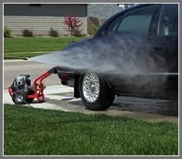 how to convert your driveway into a car wash power washing cars rh pinterest com power wash car undercarriage power wash car engine