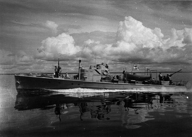 Finnish patrol motor boat 1930s vmv finska