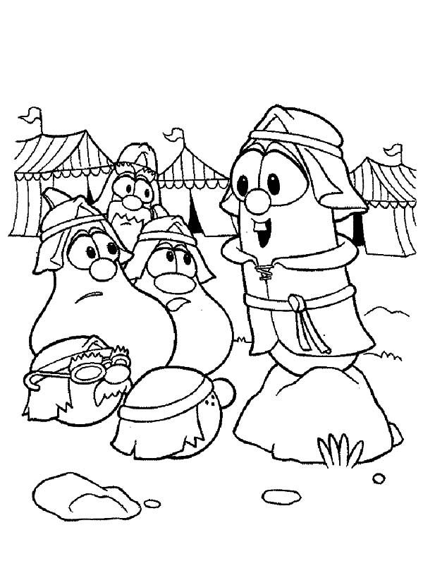Veggie Tales Larry Boy Middle Ages War Coloring Pages Coloring Sky In 2020 Coloring Pages Boy Coloring Bday Party Kids