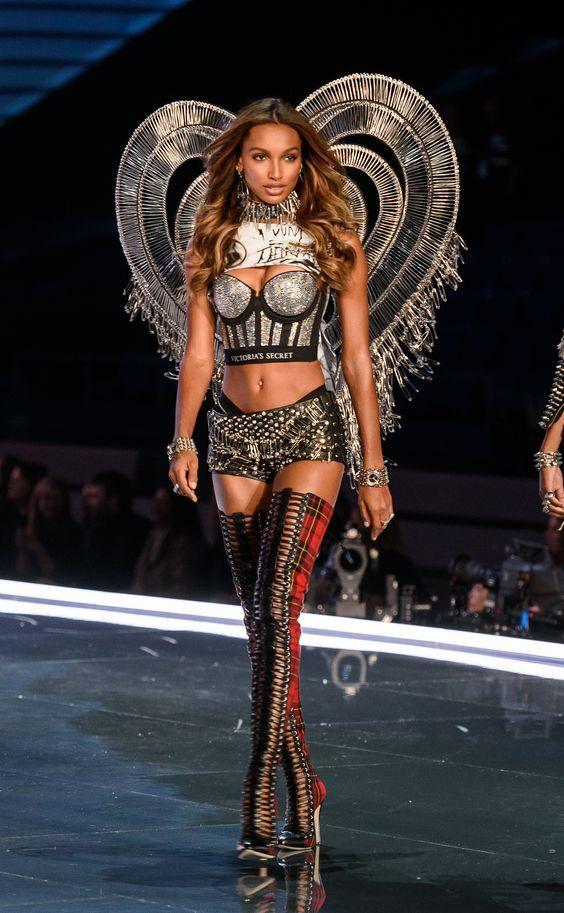 850884b4 Jasmine Tookes Walks Victoria's Secret 2017 Fashion Show Rocking VS X  Balmain Lingerie in Shanghai China on November 20, 2017 -Lives2shop247NYC