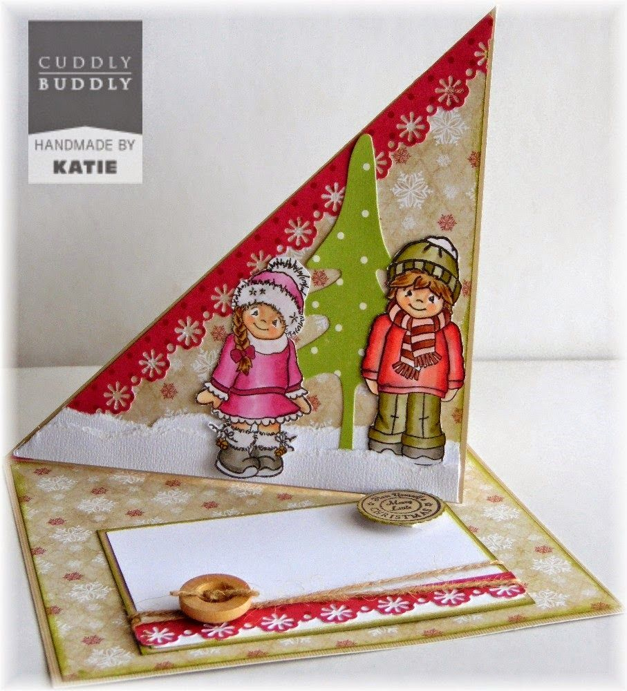 Both Sides Of The Paper: Twisted Easel   Cuddly Buddly September New  Releases!