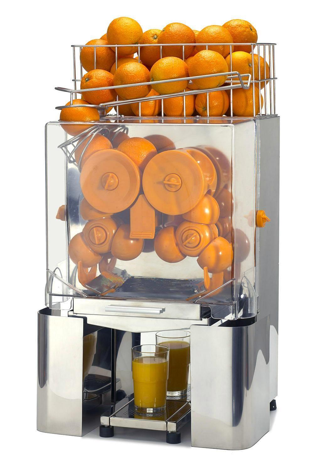 A professional orange juicer! Nice! Juicer machine