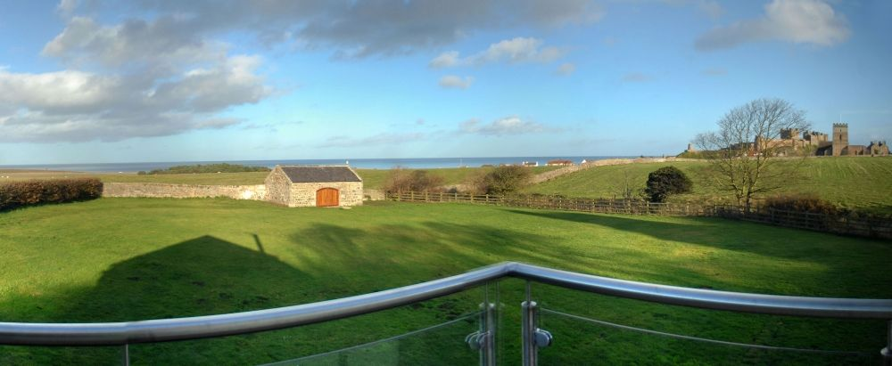 View From Master Bedroom At North Star House Bamburgh Luxury Holiday Cottages Coastal Retreat Holiday Cottage
