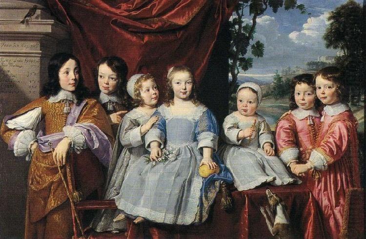 Philippe de Champaigne  Les enfants Habert de Montmor